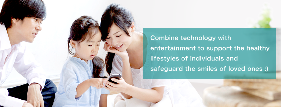 Combine technology with entertainment to support the healthy lifestyles of individuals and safeguard the smiles of loved ones :)